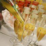 Aperol Spritz Prosecco Orangensaft im Glas - Sektempfang